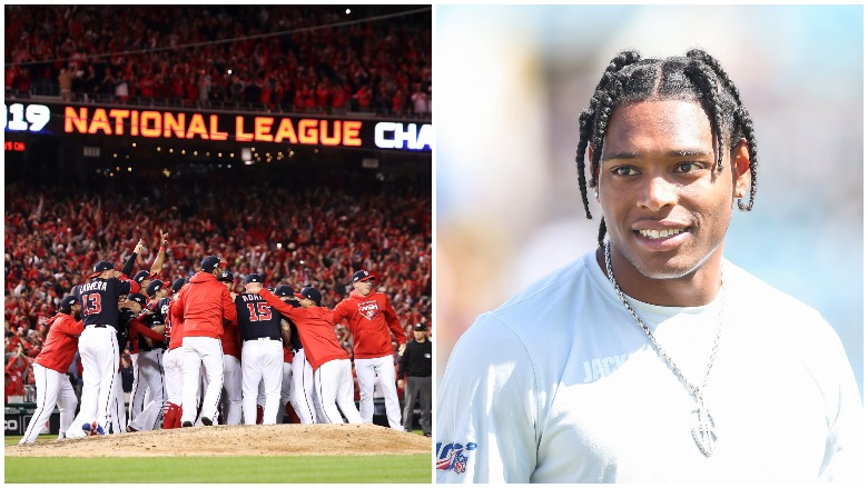 The Nationals swept the Cardinals and Jalen Ramsey was traded to the Rams.