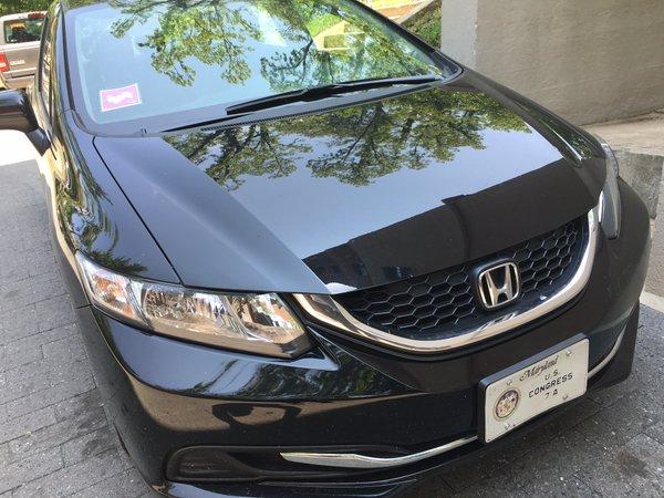 Adia Cummings Car Congressional License Plates
