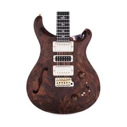 prs private stock semi-hollow guitar
