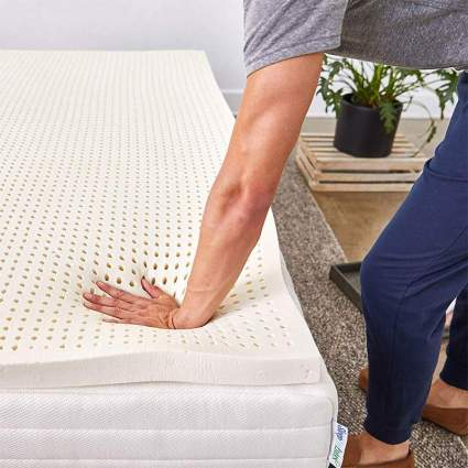 Pure Green 100% Natural Latex Mattress Topper