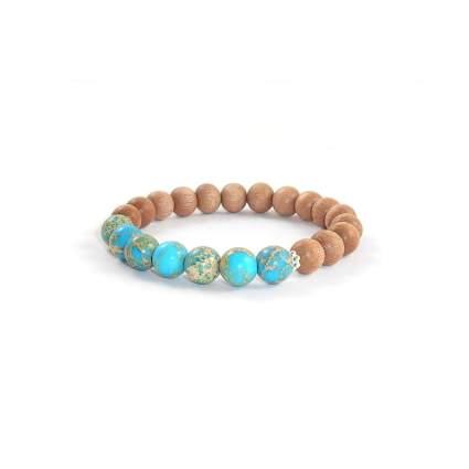 Regalite Rosewood Mala Bead Bracelet