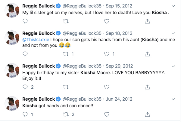 Reggie Bullock Sister