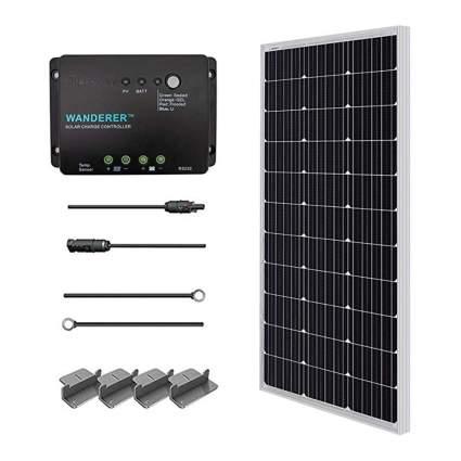 solar panel starter kit