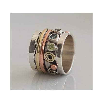 Ronibiza Jewelry Spinner Ring