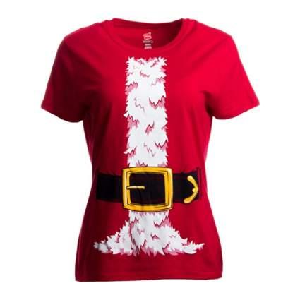 Ann Arbor Santa Claus Costume Ladies T-Shirt