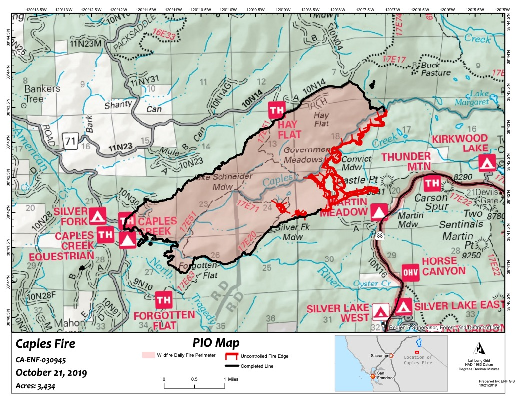 Picture of: California Fire Map Track Fires Near Me Today Oct 24 Heavy Com