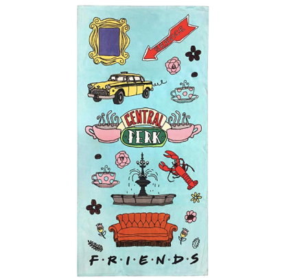 Jay Franco Friends Central Perk Bath/Pool/Beach Towel