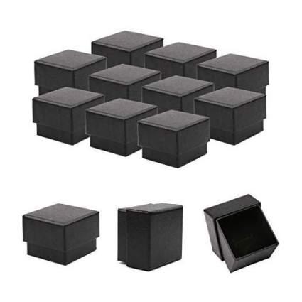 Black ring boxes