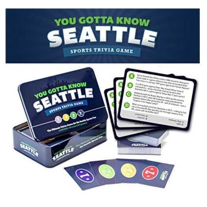 seattle sports trivia game