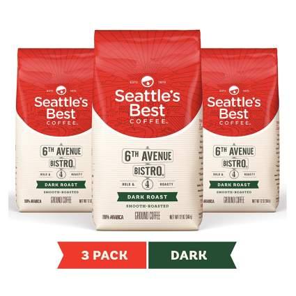 seattles best dark roast coffee