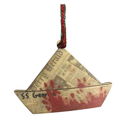 Paper hat boat from IT