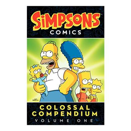 Simpsons Comics Colossal Compendium Volume 1