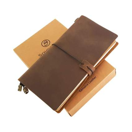 Sovereign-Gear Refillable Leather Journal