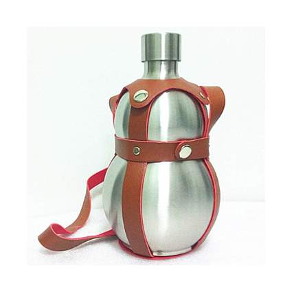 64 Ounce Stainless Steel Wine Gourd
