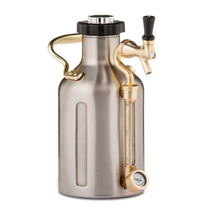 stainless steel carbonated growler