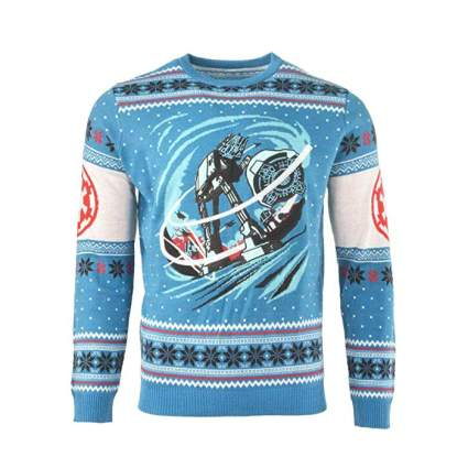 Star Wars AT-AT Battle of Hoth Christmas Sweater