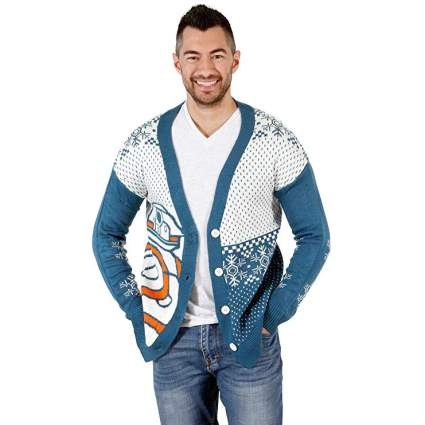 Star Wars BB8 Droid Ugly Christmas Sweater