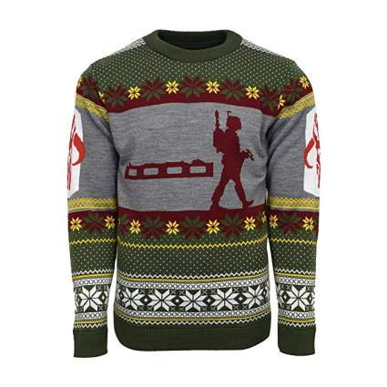 Star Wars Boba Fett Nordic Christmas Sweater