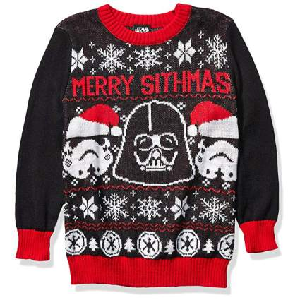Star Wars Merry Sithmas Christmas Sweater