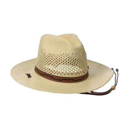 Stetson Airway Vented Panama Straw Hat