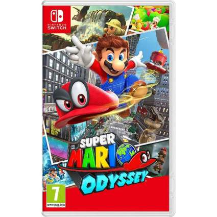Super Mario Odyssey video game