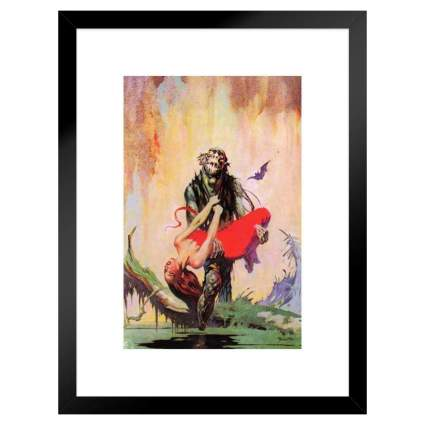 Swamp Thing Framed Wall Art