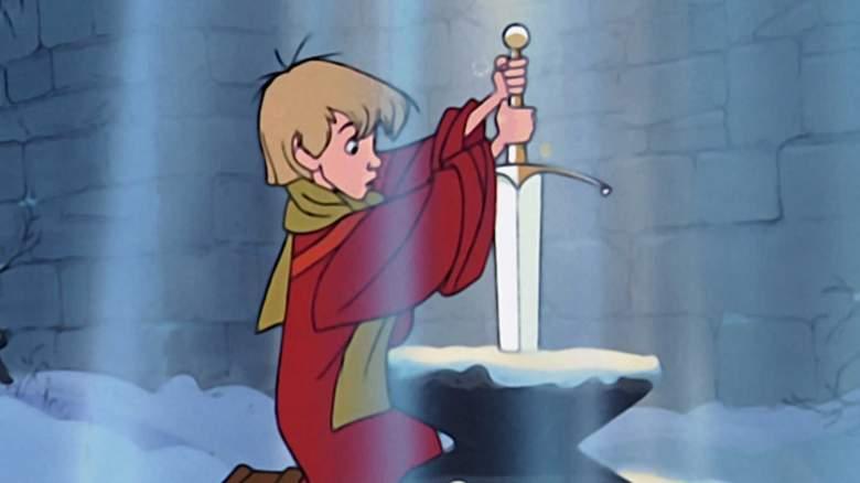 stream sword in the stone