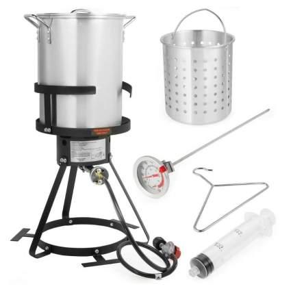 Taltintoo20 30-Quart Turkey Deep Fryer Kit
