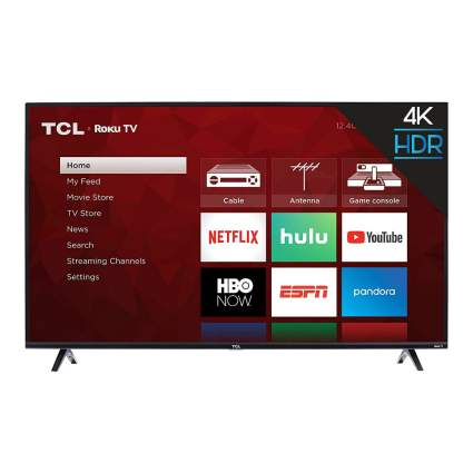TCL 50-Inch 4K Smart LED Roku TV