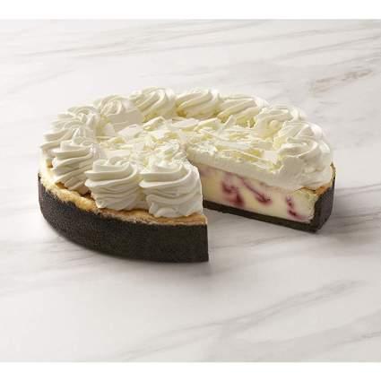 The Cheesecake Factory White Chocolate Raspberry Cheesecake