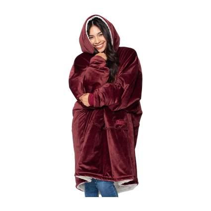 The Comfy - Oversized Sherpa Blanket Sweatshirt