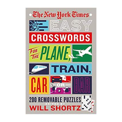 The New York Times Easy Crosswords for the Plane, Train, Car or Bar