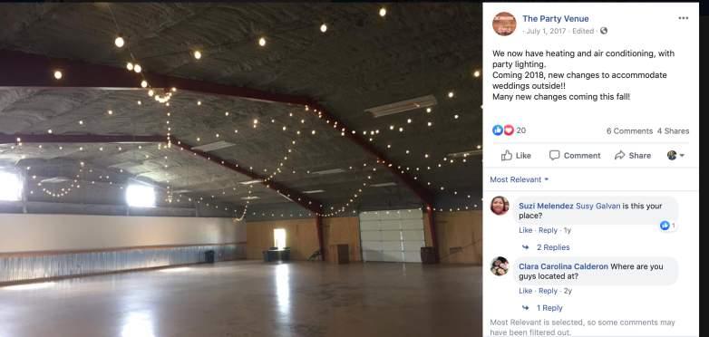 the party venue