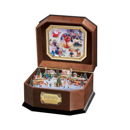 the bradford exchange rudolph the red nosed reindeer music box