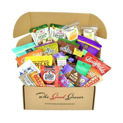 the good grocer deluxe vegan gift basket