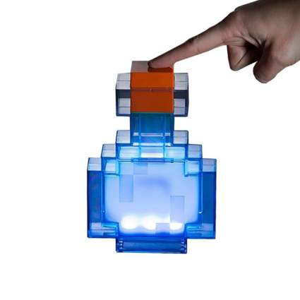 ThinkGeek Color Changing Minecraft Bottle