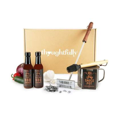 thoughtfully gifts grill master gift basket