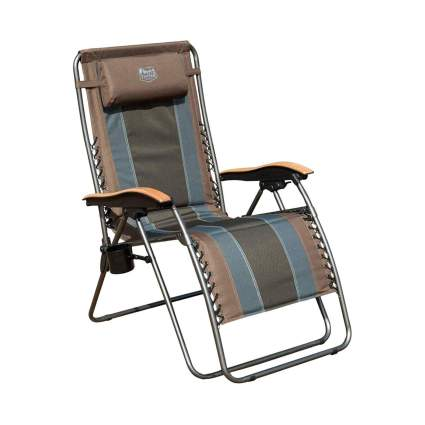 Timber Ridge Zero Gravity Outdoor Lounger Chair