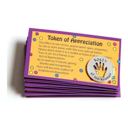 tokens of appreciation