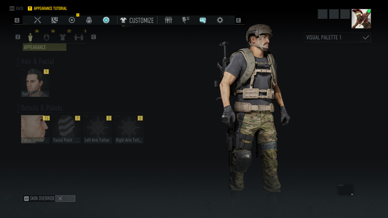 Ghost Recon Breakpoint Character Creation