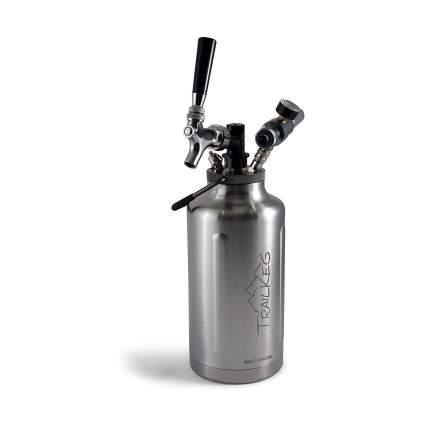 TrailKeg Half Gallon Stainless Steel Growler