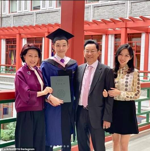 Eric Tse and Family