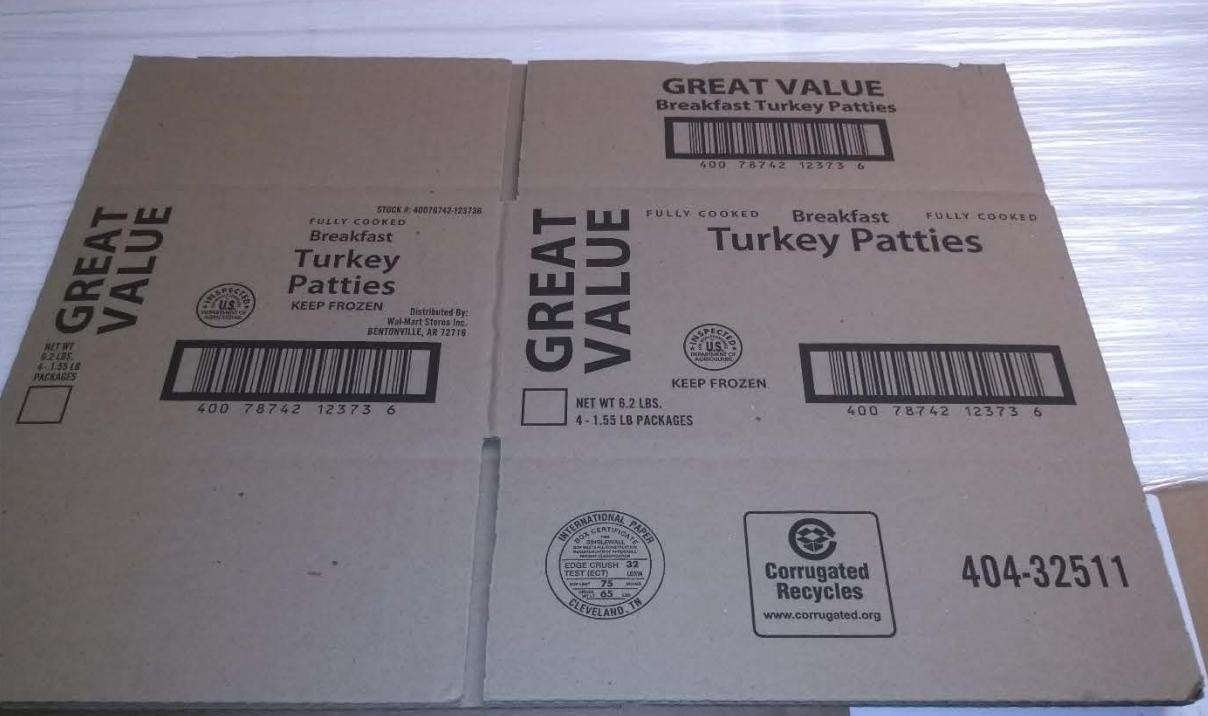 Breakfast Turkey Patties