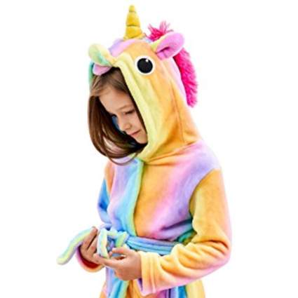 Hooden Unicorn robe