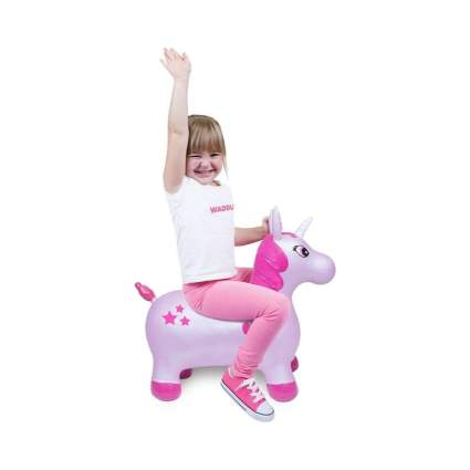 Unicorn Inflatable Space Hopper