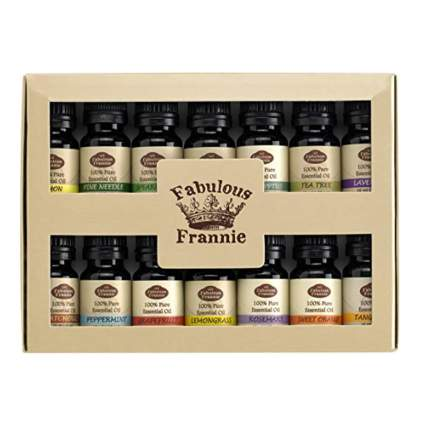 vegan essential oils set