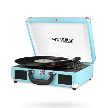 Victrola Vintage 3-Speed Bluetooth Suitcase Turntable
