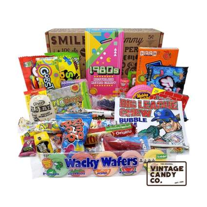 vintage candy co 1980s candy gift pack