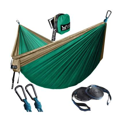 WINNER OUTFITTERS Lightweight Nylon Portable Hammock