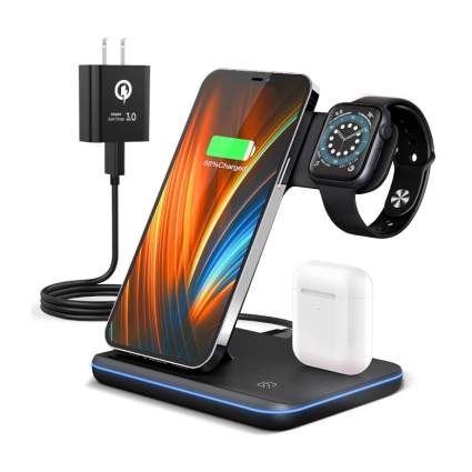 wireless apple charging stand